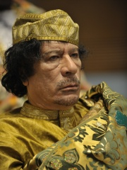 Photo of Muammar Gaddafi