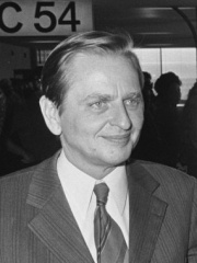 Photo of Olof Palme