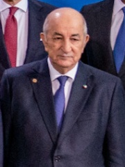 Photo of Abdelmadjid Tebboune