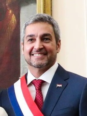 Photo of Mario Abdo Benítez