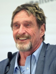 Photo of John McAfee