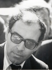 Photo of Jean-Luc Godard
