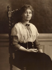 Photo of Emmeline Pankhurst