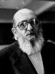 Photo of Paulo Freire