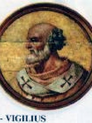 Photo of Pope Vigilius