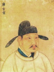 Photo of Emperor Xuanzong of Tang