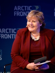 Photo of Erna Solberg