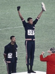 Photo of Tommie Smith
