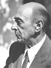 Photo of Arnold Schoenberg