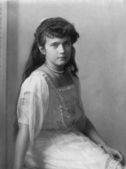 Photo of Grand Duchess Anastasia Nikolaevna of Russia