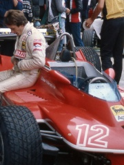 Photo of Gilles Villeneuve