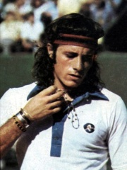 Photo of Guillermo Vilas