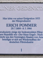 Photo of Erich Pommer