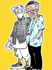 Photo of R. K. Laxman